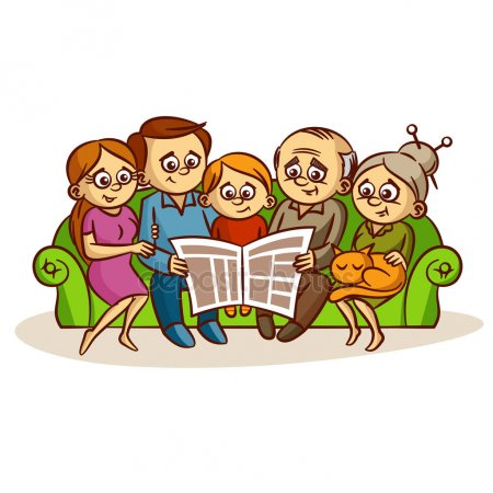 depositphotos 135795160-stock-illustration-family-reading-a-newspaper c0bc3